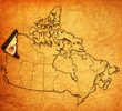 yukon on map of canada