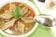 Brotsuppe mit Suppengemüse
