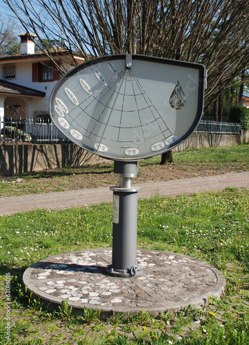Height Sundial in Aiello Poster