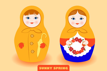 Spring Mood Matreshka