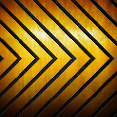 arrows pattern metal background