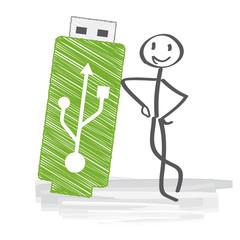 USB Stick, Datenspeicherung