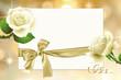Стилизованный свадебный фон с розами