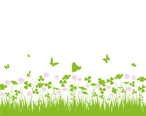 klee,kleeblatt,kleeblätter,blüte,frühjahr,blüte,lila,grün,flora
