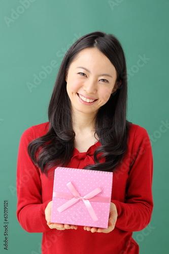 女性・プレゼント