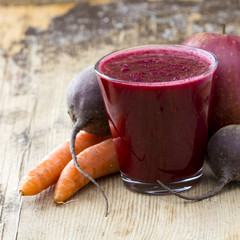 Apple, Carrot and Beet juice