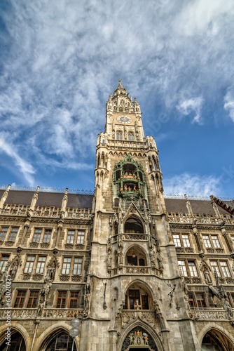 City hall in Munich, Germany