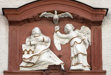 The Annunciation , Miltenberg, Bavaria, Germany