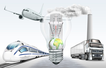 Globale Umweltverschmutzung, Klimaerwärung