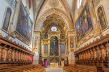 Bologna - presbytery of baroque church San Girolamo