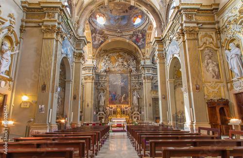Bologna - baroque church Chiesa Corpus Christi.