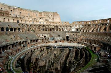 Rome - inside the colosseum