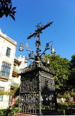 Cruz de Cerrajería, barrio Santa Cruz, Sevilla, España
