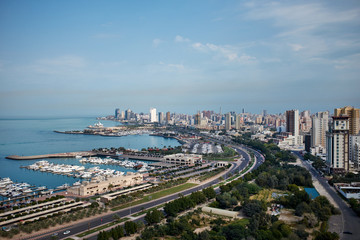 Marina and city in Kuwait