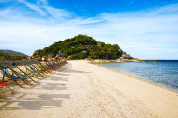 Thailand, Koh Nang Yuan beach and resort