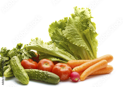 heap of vegetables