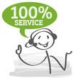 Hotline, 100 Prozent Service
