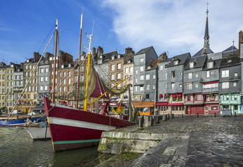 Ville de Honfleur Normandie France