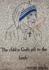 Mother Teresas Quote, Kolkata, India
