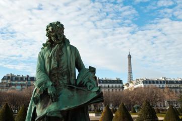 touristes trocadéro prenant une photo à Paris