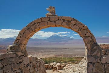 Atacama desert - volcano Licancabur