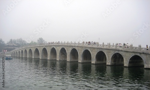 bridge in imperial summer palace