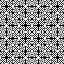 Kraty wzór. Bez szwu tekstury geometryczne.