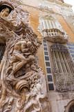 Valencia Palacio Marques de Dos Aguas palace facade