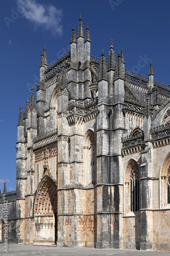 Batalha Monastery. Masterpiece of the Gothic and Manueline