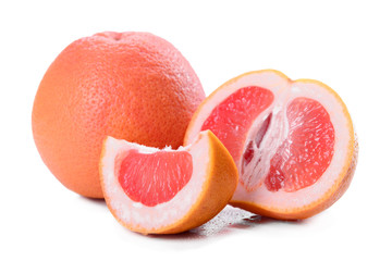 fresh grapefruit close-up