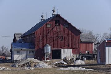 Freshly Painted Red Barn