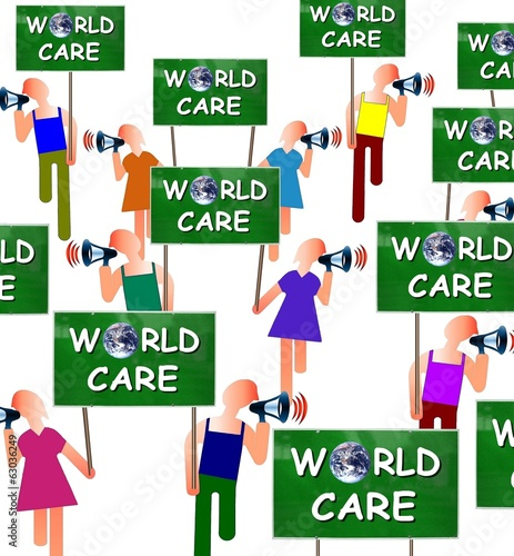 "Manif ""World care"""