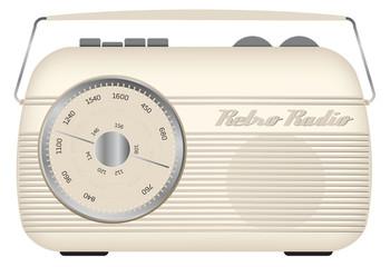 Retro Mono Radio