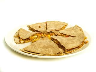 squash blossom quesadillas, Mexican food