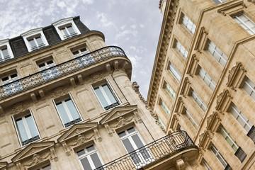 Immeuble dans le centre de Bordeaux, France