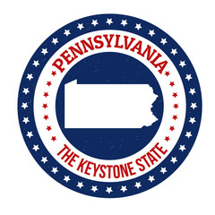 Pennsylvania stamp
