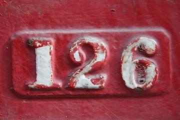 Number 126
