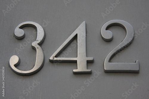 Number 342