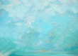 sea foam and splashes, painting by oil on canvas, illustration,