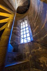 Valencia Miguelete Micalet indoor tower stairs stairway