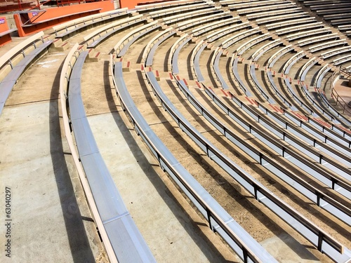Amphitheater Bleacher Seating