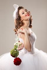 Pin up bride