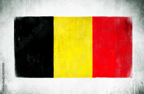 Painting Of The National Flag Of Germany