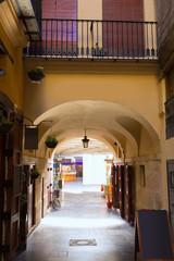 Valencia Plaza Redonda is a round square in Spain