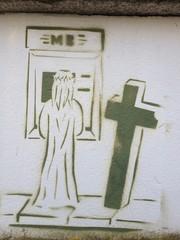 Jesus Cash Graffiti