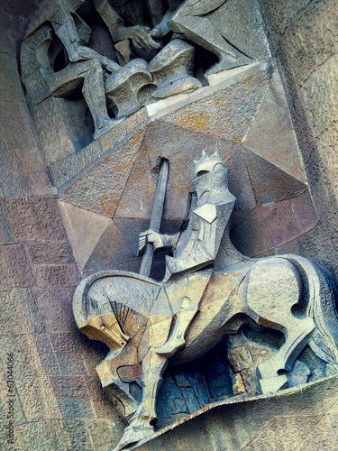 Sagrada Familia: Sculptures, Barcelona, Spain