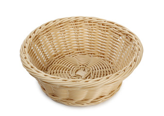 Empty basket for picnic