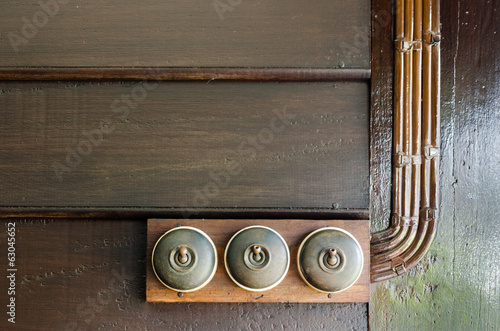 antique Electric switches