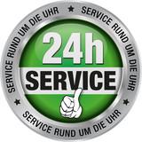 24h Service - Service rund um die Uhr