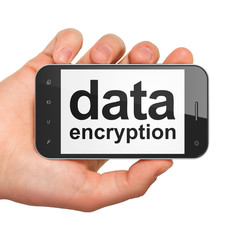 Protection concept: Data Encryption on smartphone